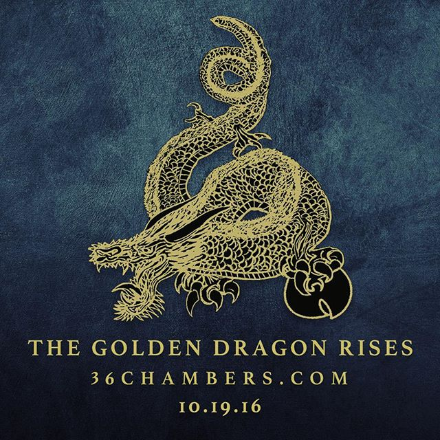 Tomorrow on #wuwednesday we'll share more details about our project.  #36chambers #wutang #wutangclan #goldendragon